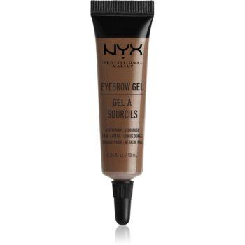 NYX Professional Makeup Eyebrow Gel gel pentru sprâncene rezistent la apă