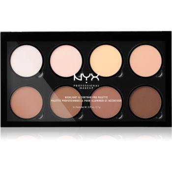 NYX Professional Makeup Highlight & Contour PRO Patela pentru conturul fetei imagine produs