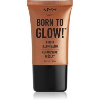 NYX Professional Makeup Born To Glow tekutý rozjasňovač odstín 04 Sun Goddess 18 ml