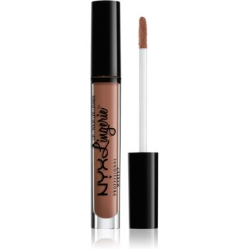 NYX Professional Makeup Lip Lingerie tekutá rtěnka s matným finišem odstín 01 Honeymoon 4 ml