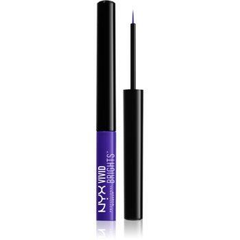 NYX Professional Makeup Vivid Brights tuș lichid colorat pentru ochi