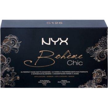 NYX Professional Makeup Bohéme Chic večnamenska paleta 2