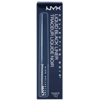 NYX Professional Makeup Collection Noir Liquid eyeliner 3