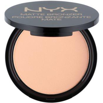 NYX Professional Makeup Matte Bronzer bronzer odstín 01 Light 9,5 g