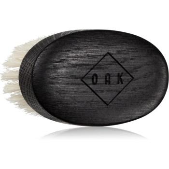 OAK Natural Beard Care perie pentru barba fin