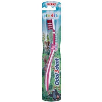 Odol 3dent escova de dentes para crianças soft