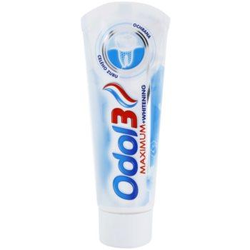 Odol 3  Maximum pasta pro kompletní ochranu zubů s bělicím účinkem