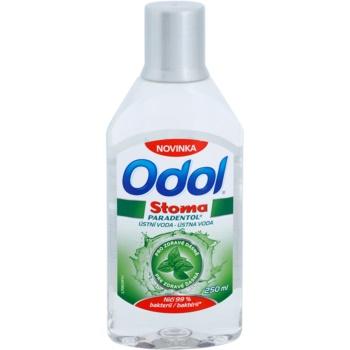 Odol Stoma Paradentol рідина для полоскання  рота для здоров'я зубів і ясен