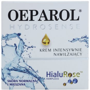 Oeparol Hydrosense intenzivna vlažilna krema za normalno do mešano kožo 2