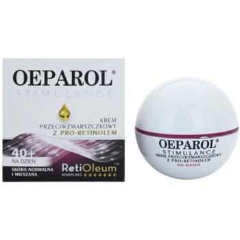 Oeparol Stimulance дневен противобръчков крем с Про-ретинол за нормална към смесена кожа 1