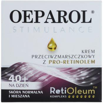 Oeparol Stimulance дневен противобръчков крем с Про-ретинол за нормална към смесена кожа 2