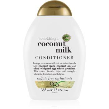 OGX Coconut Milk balsam hidratant cu ulei de cocos imagine