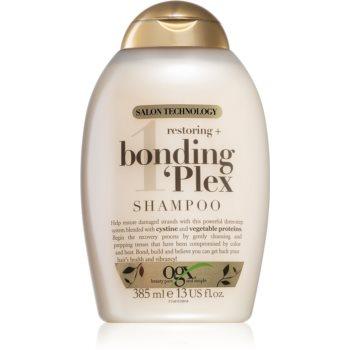 OGX Bonding Plex obnovujúci šampón 385 ml