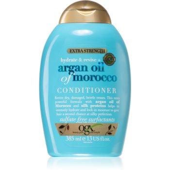 OGX Argan Oil Of Morocco Extra Strenght balsam pentru regenerare pentru par deteriorat imagine