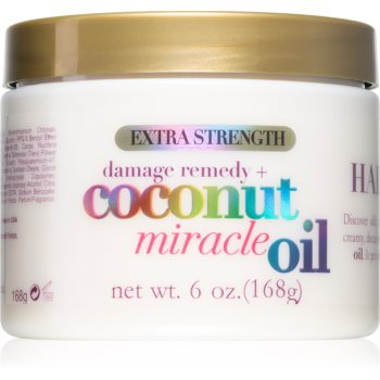 OGX Coconut Miracle Oil mascã profund fortifiantã pentru pãr cu ulei de cocos imagine