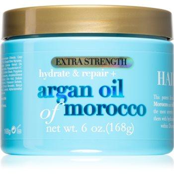 OGX Argan Oil Of Morocco Extra Strenght masca intensã de întinerire pentru par deteriorat imagine produs