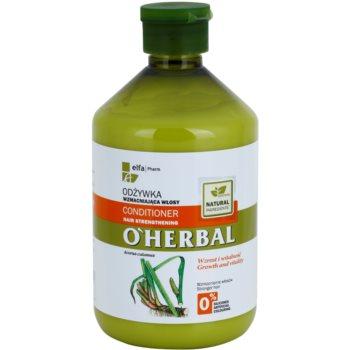 O'Herbal Acorus Calamus krepilni balzam za šibke lase 1