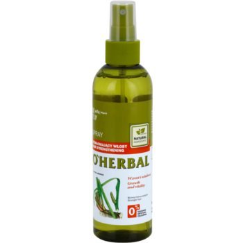O'Herbal Acorus Calamus spray fortificante para cabelo fraco