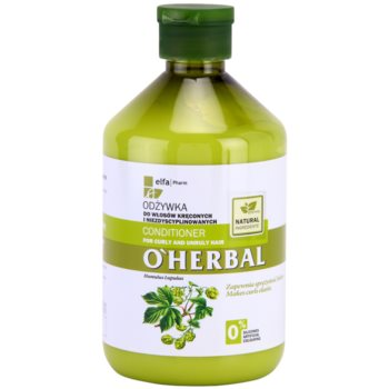 O'Herbal Humulus Lupulus Conditioner For Unruly And Frizzy Hair 1