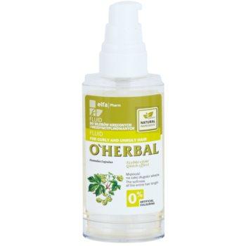 O'Herbal Humulus Lupulus флюїд для неслухняного та кучерявого волосся 1