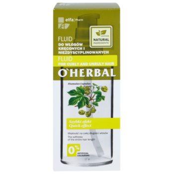 O'Herbal Humulus Lupulus флюїд для неслухняного та кучерявого волосся 3