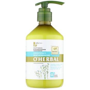 O'Herbal Linum Usitatissimum odżywka do włosów suchych i zniszczonych
