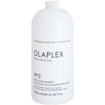Olaplex Professional Bond Perfector ingrijire-reparare pentru par reducand daunele cauzate in timpul colorarii cu pompa