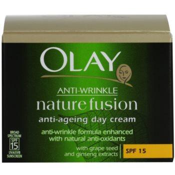 Olay Anti-Wrinkle Nature Fusion creme de dia antirrugas SPF 15 4
