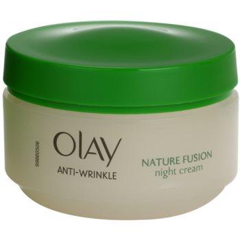 Olay Anti-Wrinkle Nature Fusion omlazující noční krém na obličej a krk