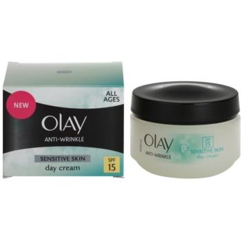Olay Anti-Wrinkle Sensitive Skin дневен крем  против стареене на кожата 2