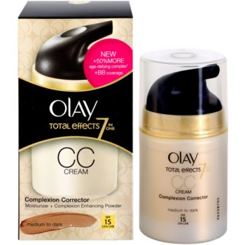 Olay Total Effects СС крем проти зморшок 2