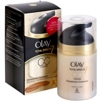 Olay Total Effects СС крем проти зморшок 3