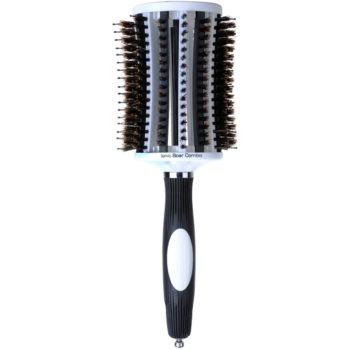 Olivia Garden ThermoActive Ionic Boar Combo kartáč na vlasy průměr 65 mm