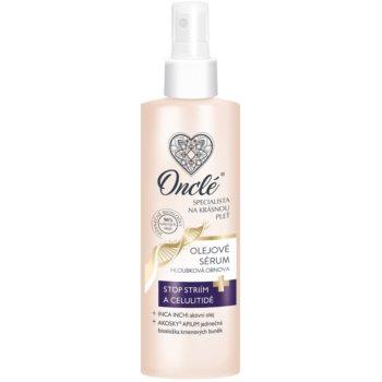 Onclé Woman ser ulei impotriva celulitei si vergeturilor