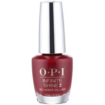 OPI Infinite Shine 2 lac de unghii culoare Malaga Wine 15 ml