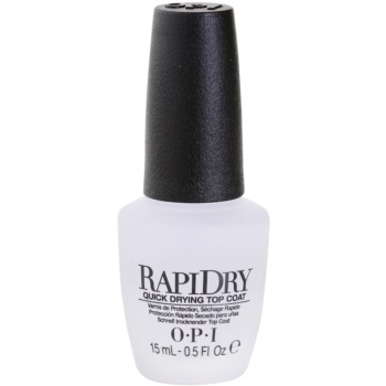 Image of OPI Rapidry Fast Drying Top Coat For Nails 15 ml