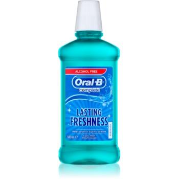 Oral B Complete Apa de gura impotriva placii dentare si a gingivitei. aroma Fresh Mint  500 ml