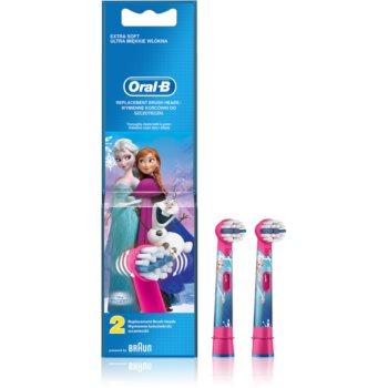 Fotografie Oral B Stages Power Frozen EB10K náhradní hlavice extra soft od 3 let 2 ks
