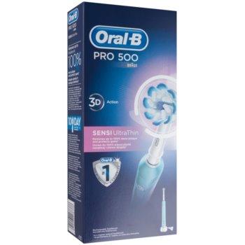 Oral B Pro 500 D16.513.U SENSI UltraThin periuta de dinti electrica