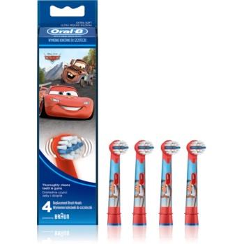 Oral B Stages Power EB10 Cars capete de schimb pentru periuta de dinti 4 pc poza noua