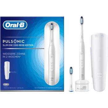 Oral B Pulsonic Slim One 2200 White periuta de dinti cu ultrasunete poza noua