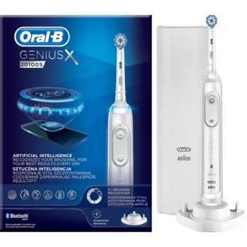 Oral B GeniusX 20100S Fuji White periuta de dinti electrica poza noua