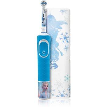 Oral B Vitality Kids 3+ Frozen periuta de dinti electrica (cu sac) pentru copii imagine produs