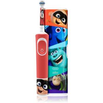 Oral B Vitality Kids 3+ Pixar periuta de dinti electrica cu sac poza noua