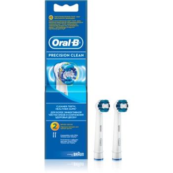 Oral B Precision Clean EB 20 capete de schimb pentru periuta de dinti 2 pc poza noua