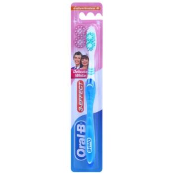 Oral B 3-Effect Delicate White perie de dinti mediu