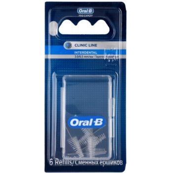 Oral B Pro-Expert Clinic Line набір змінних міжзубних щіток 6 штук