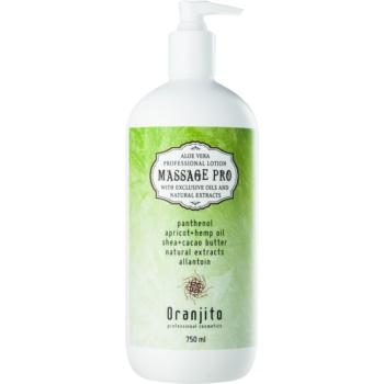 Oranjito Massage Pro lapte de corp pentru masaj cu aloe vera