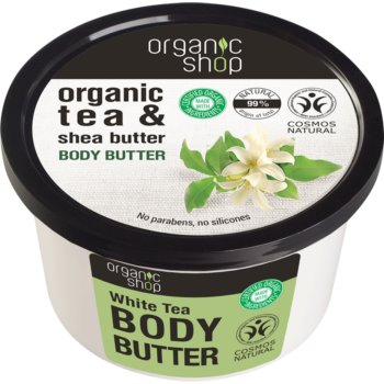 Organic Shop Organic Tea & Shea Butter unt de corp intens hidratant