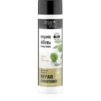 Organic Shop Organic Olive & Orange Flowers obnovující vlasový kondicionér 280 ml